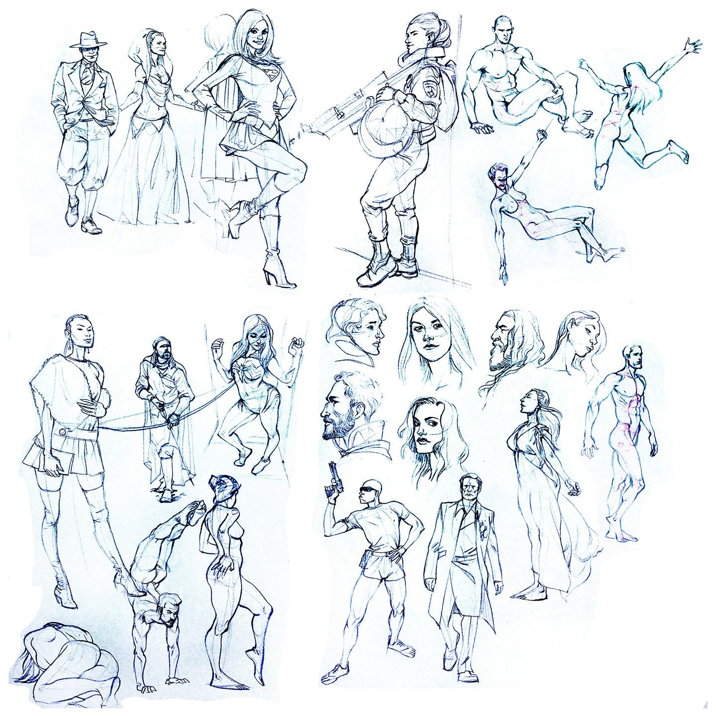 Matt rhodes sketchbookstudies july2017