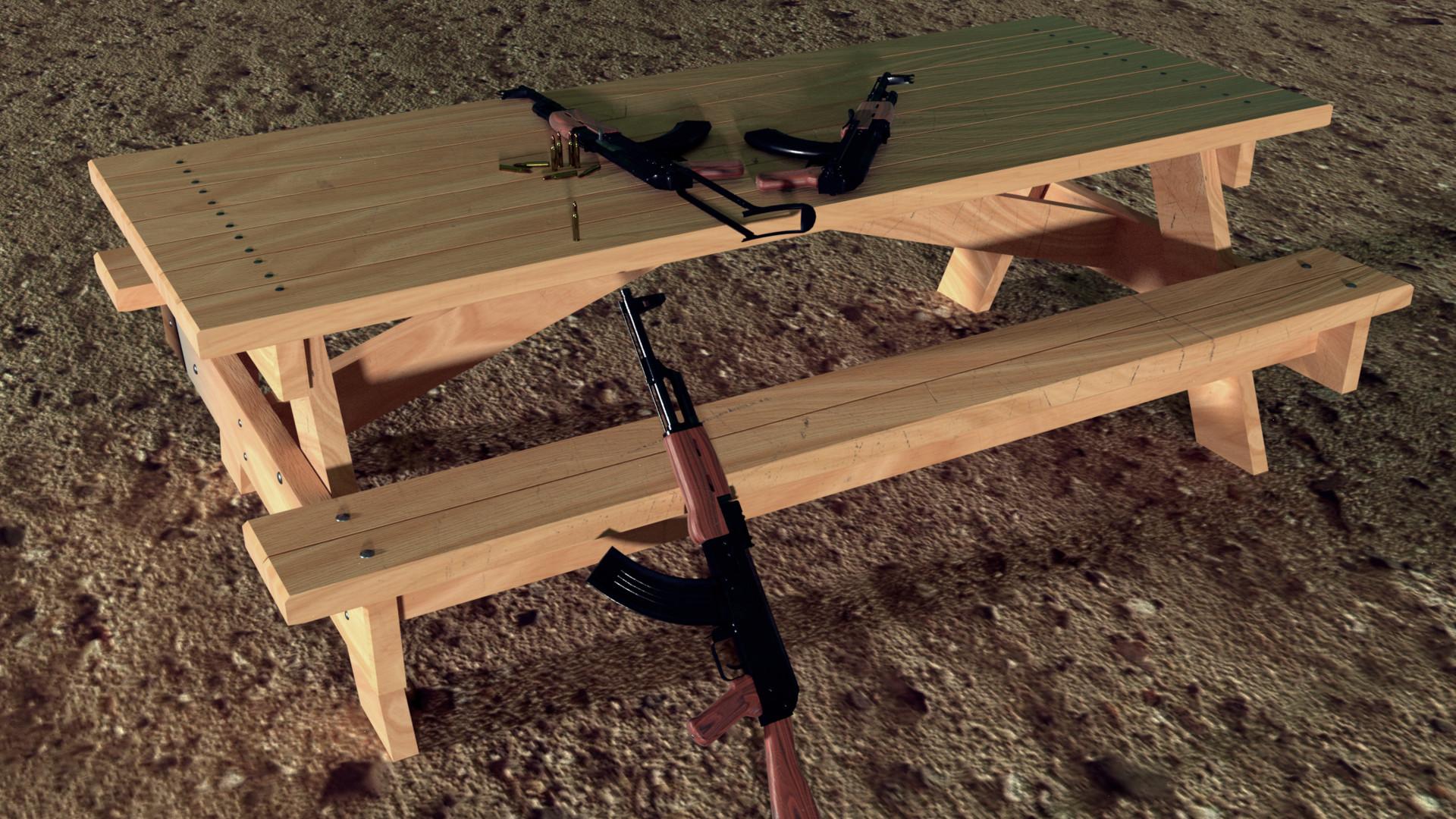 ArtStation AK 47 Kalashnikov AYTAC GULEY