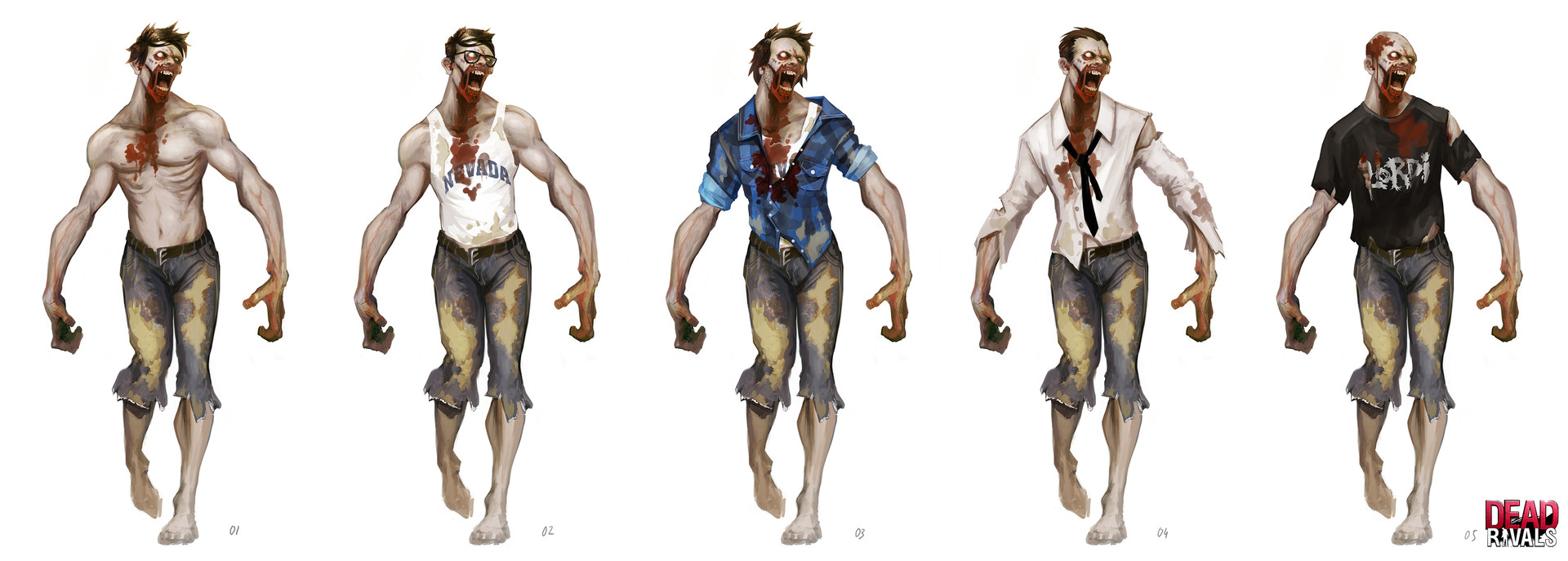 Alexandre chaudret zombiemmo character zombie redesign04