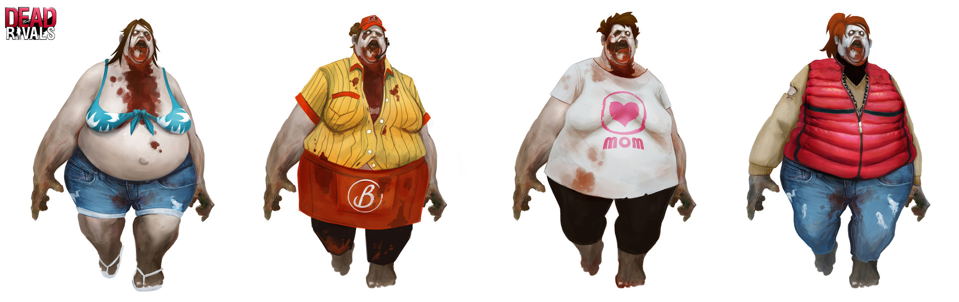 Alexandre chaudret dw characters zombies woman fat01