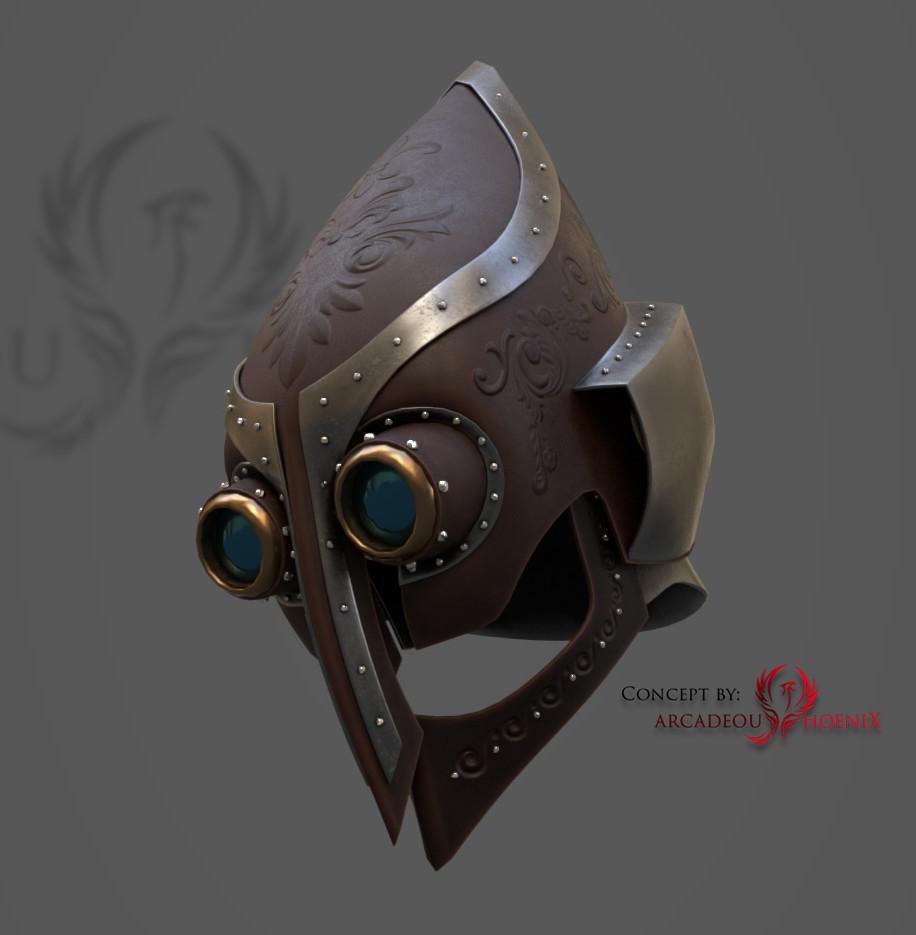 Arcadeous phoenix helm
