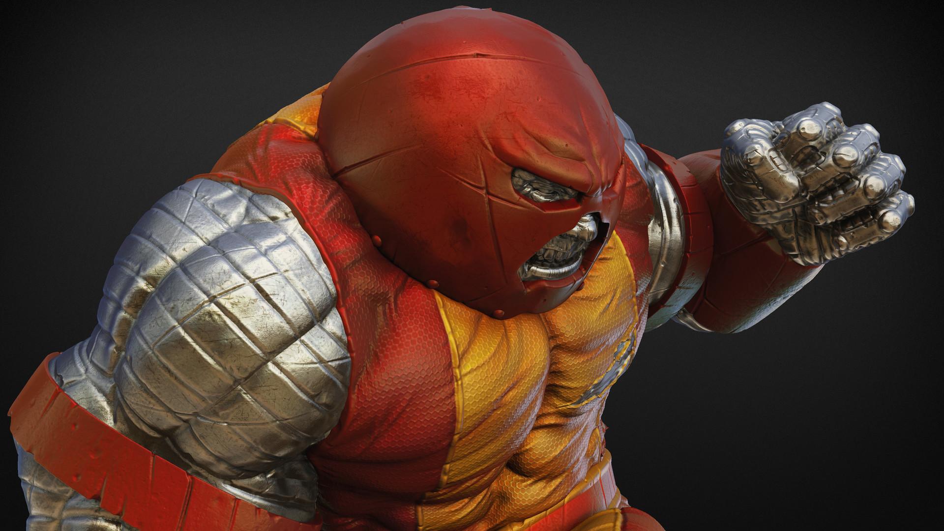 Red Hulk Vs Trion Juggernaut: Miguel Hernandez Urbina