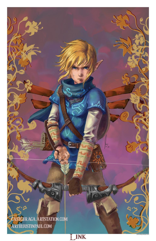 Justin Paul Link The Legend Of Zelda Breath Of The Wild