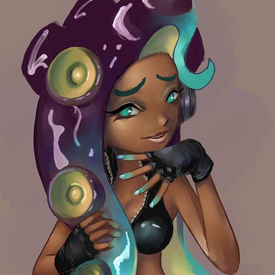 Justin paul marina splatoon by justin paul