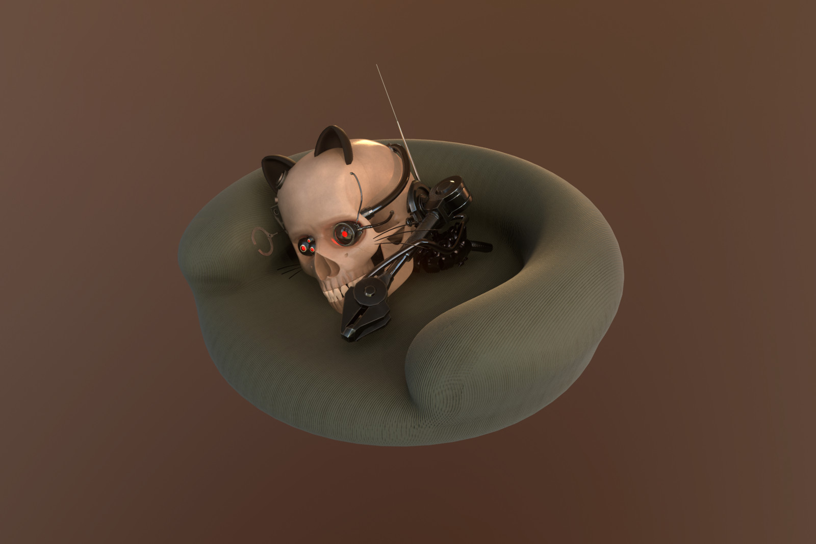 Rendered with Marmoset  Meow!