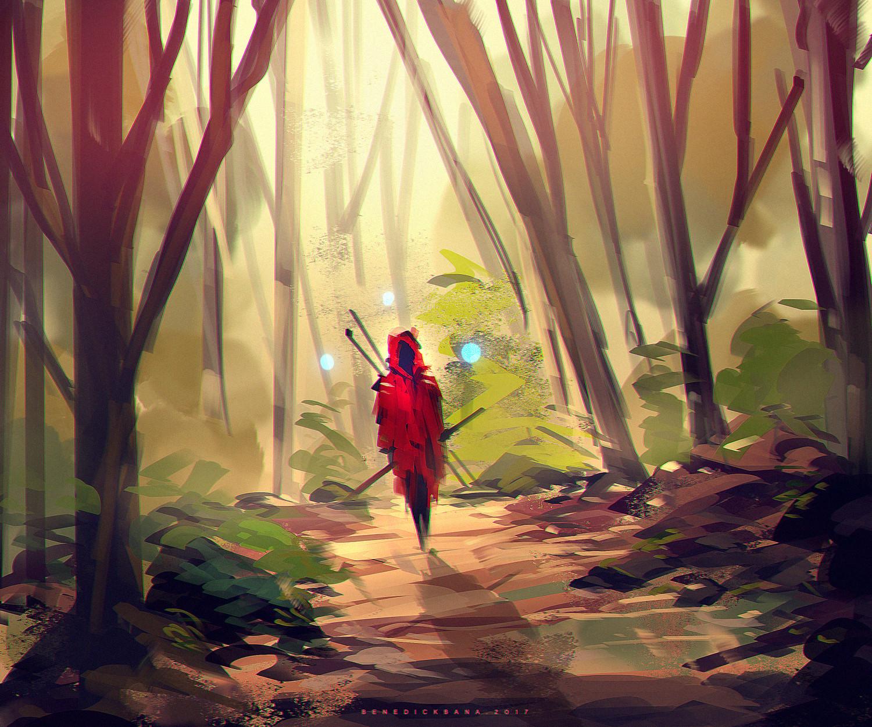 Benedick bana red hood lores