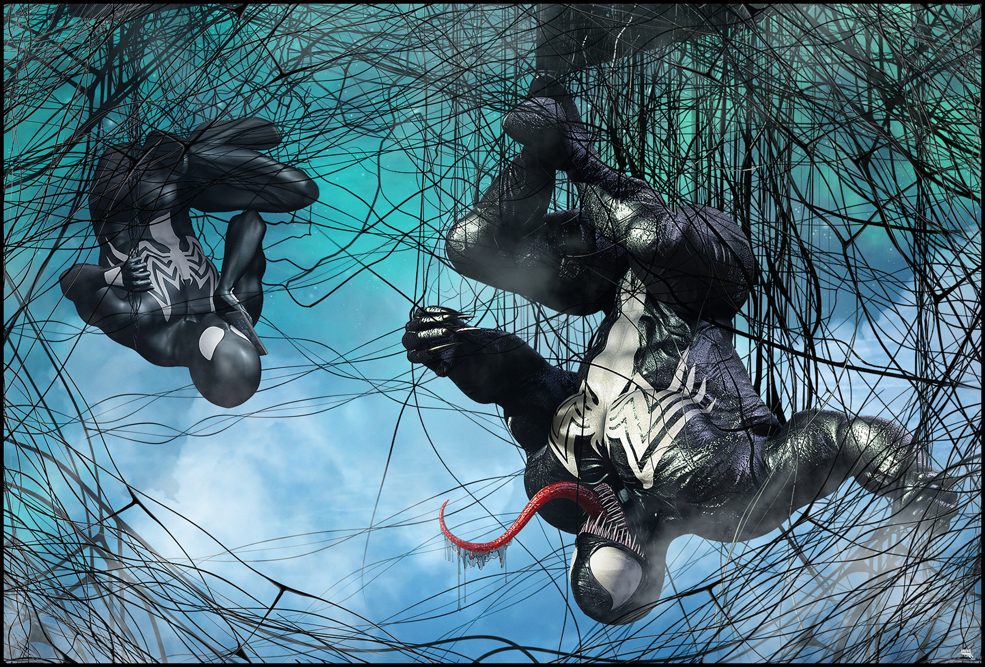 Marc mons spidey and venom teamp up by marcmons007 dbha5a7