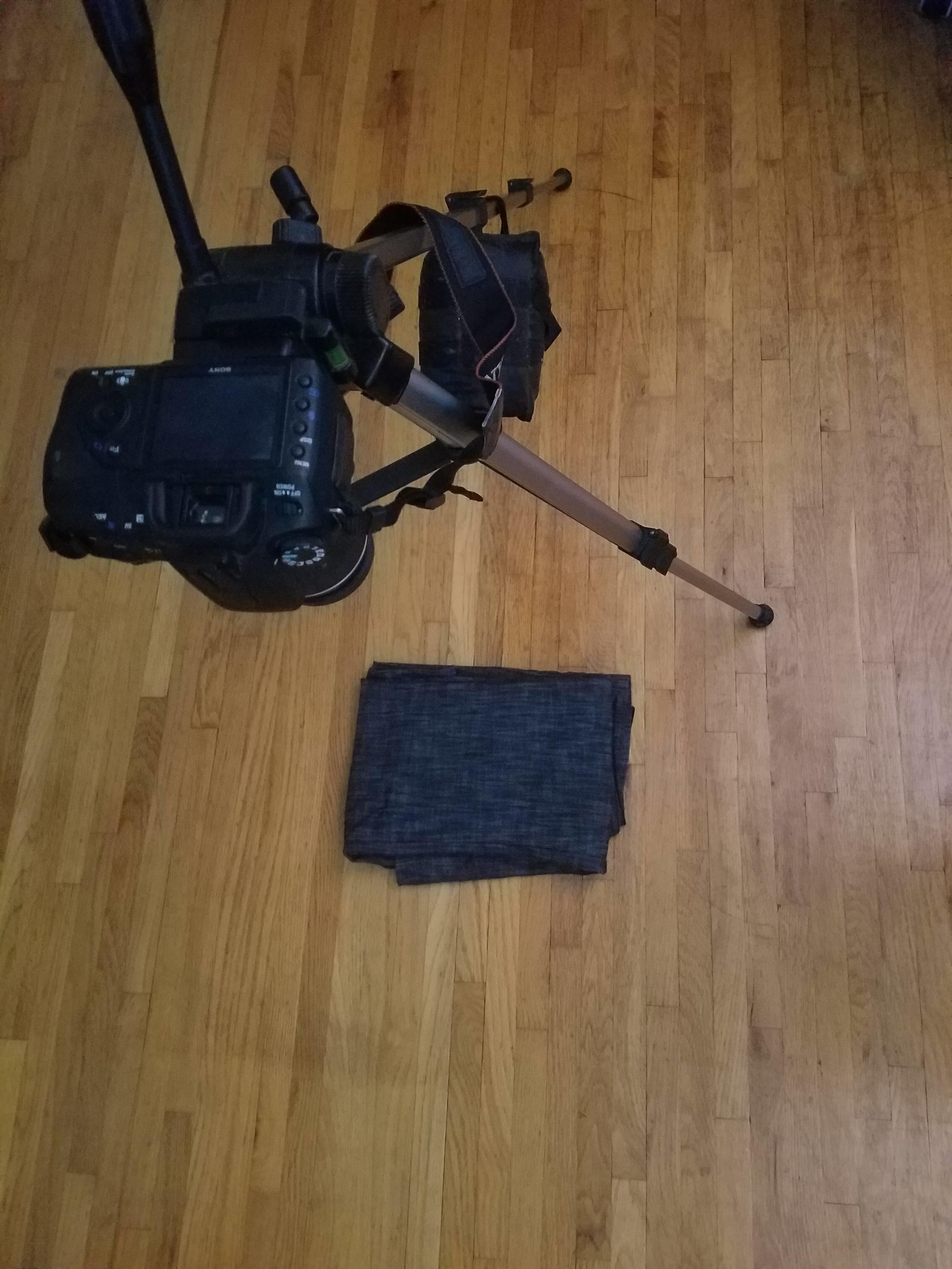 RTI scan setup ( Used my phone's flash as a light)