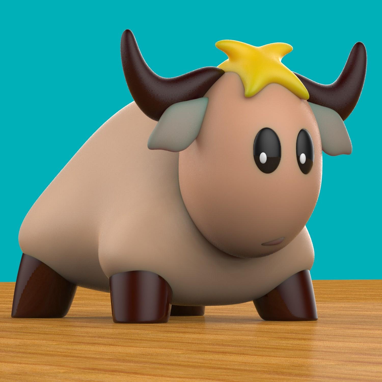 toy bull