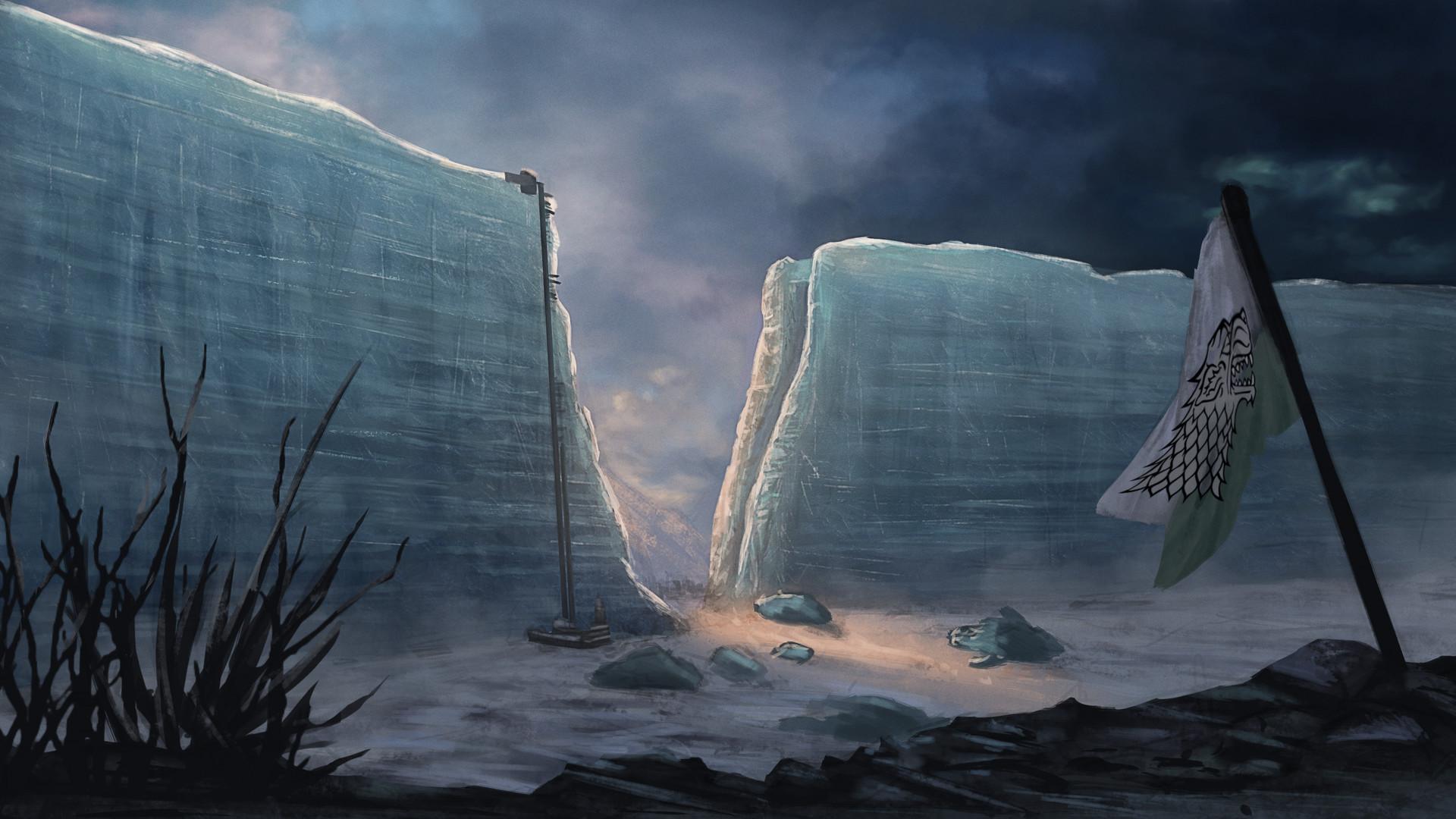 Artstation Game Of Thrones The Broken Wall Daniel Ang