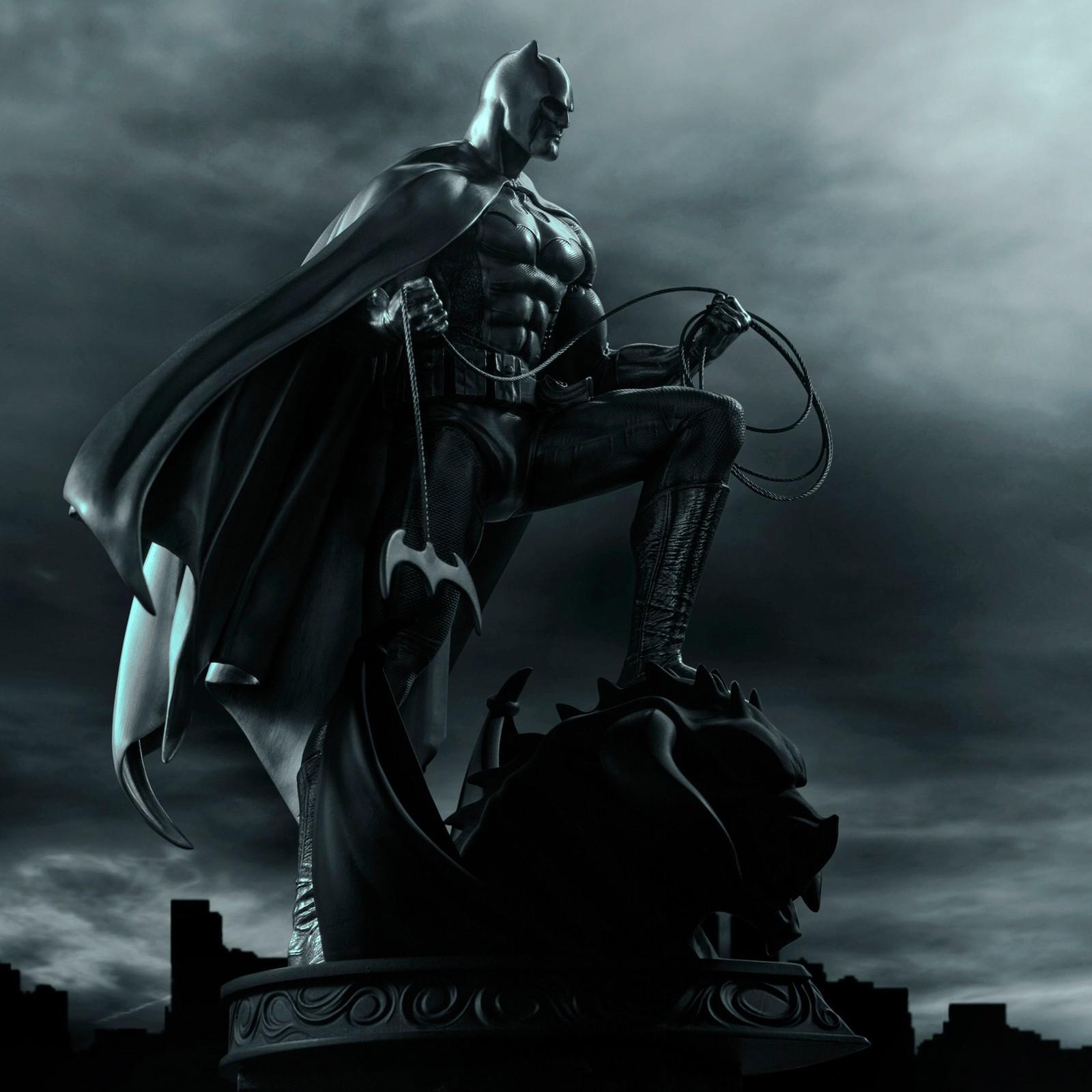 Batman In Pewter