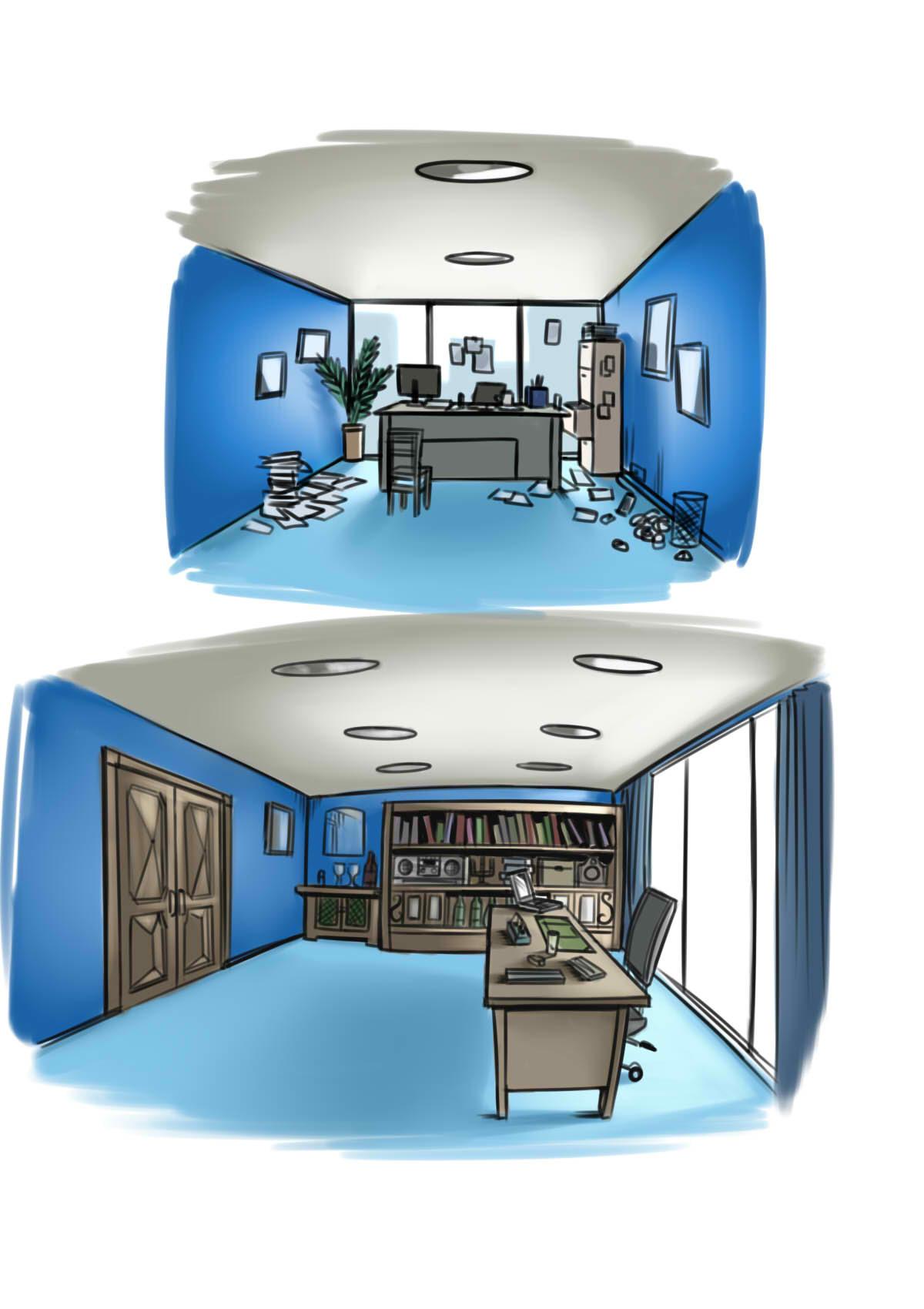 Steven galvan office concept art