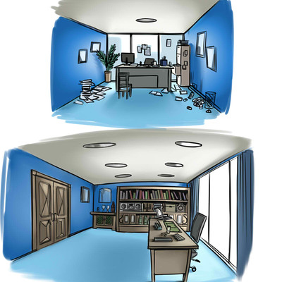 Steven galvan office concept art