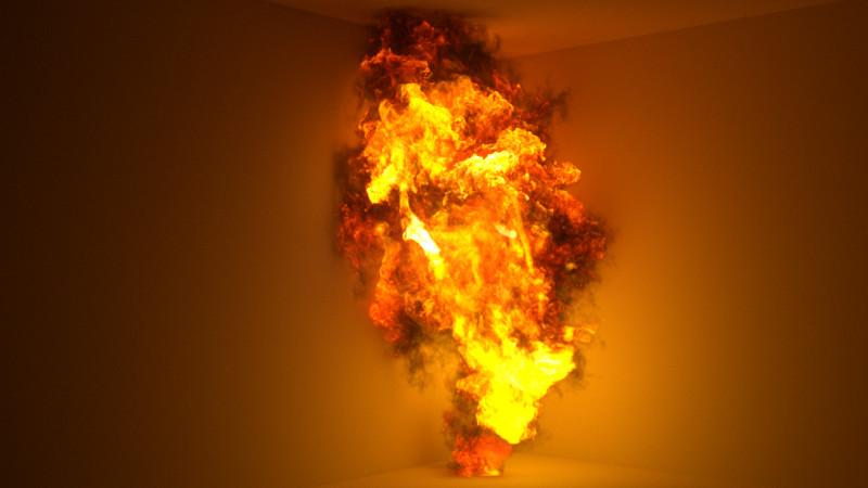 ArtStation - Fire Shader Test, Fahad Alneama