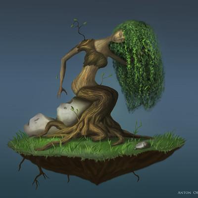 Anton orsher tree woman orsher
