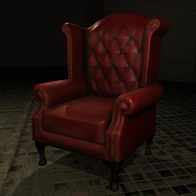 Weston mitchell chesterfield chair unity