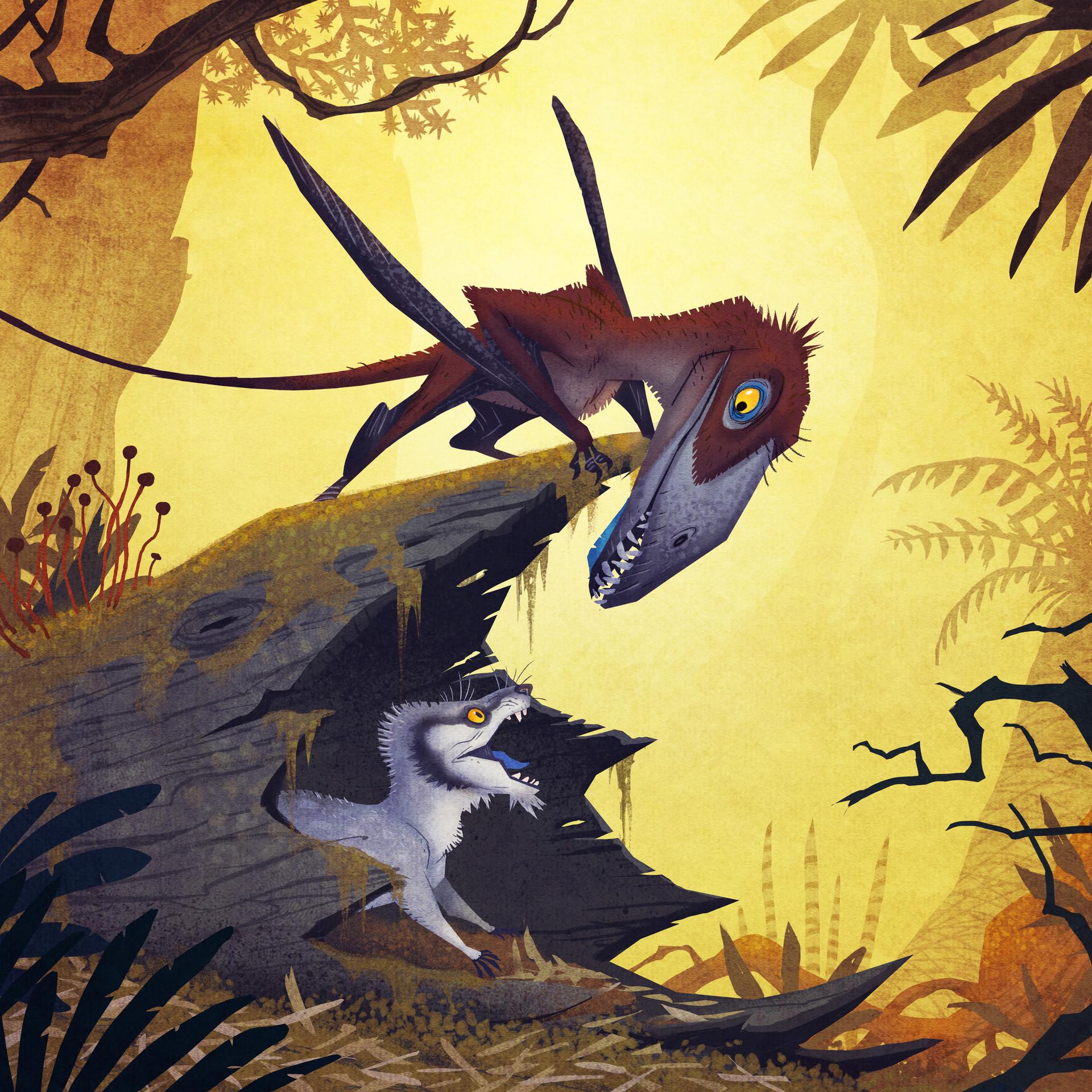 Dimorphodon, JOHAN EGERKRANS
