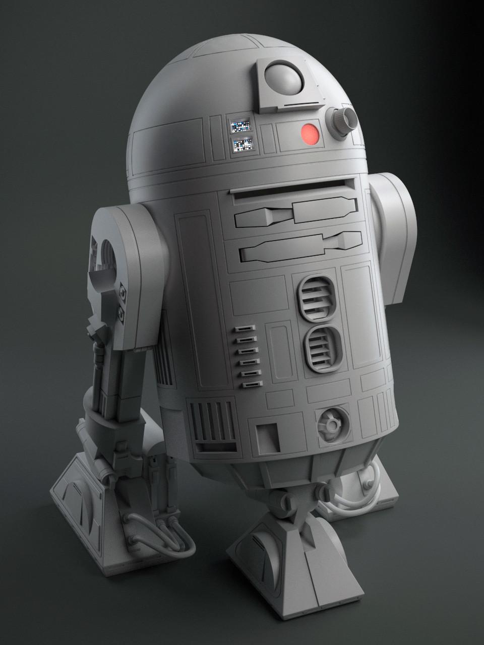 Gray render.