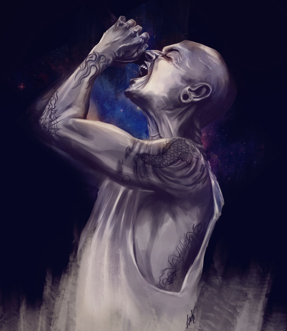 Chester tribute Deeply sad, can't express how meaningful his music is for me and how the lyrics helped me through life.