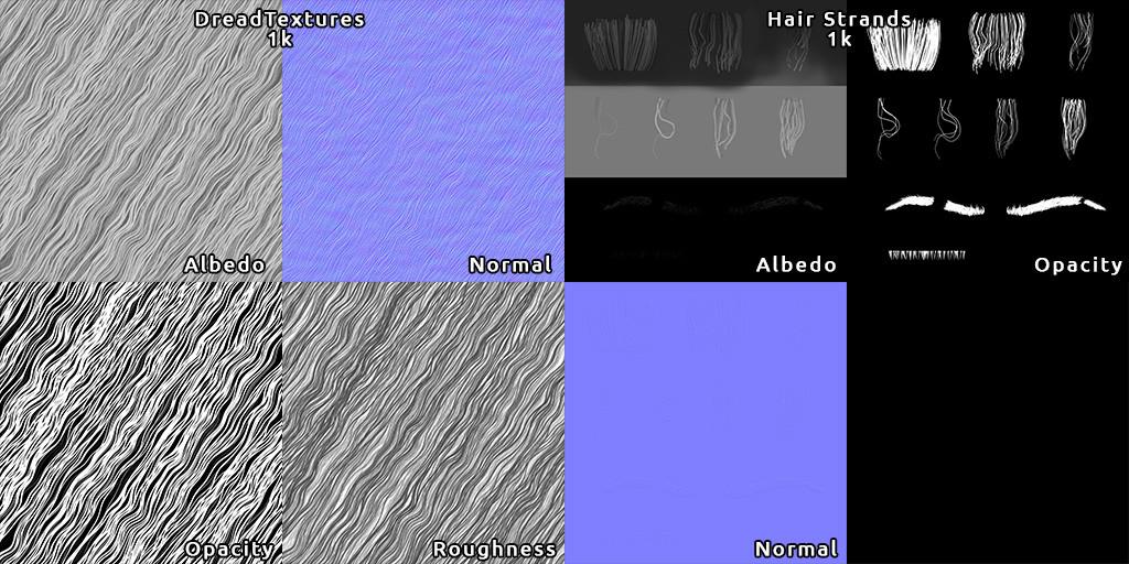 Tairo fialho hairtextures