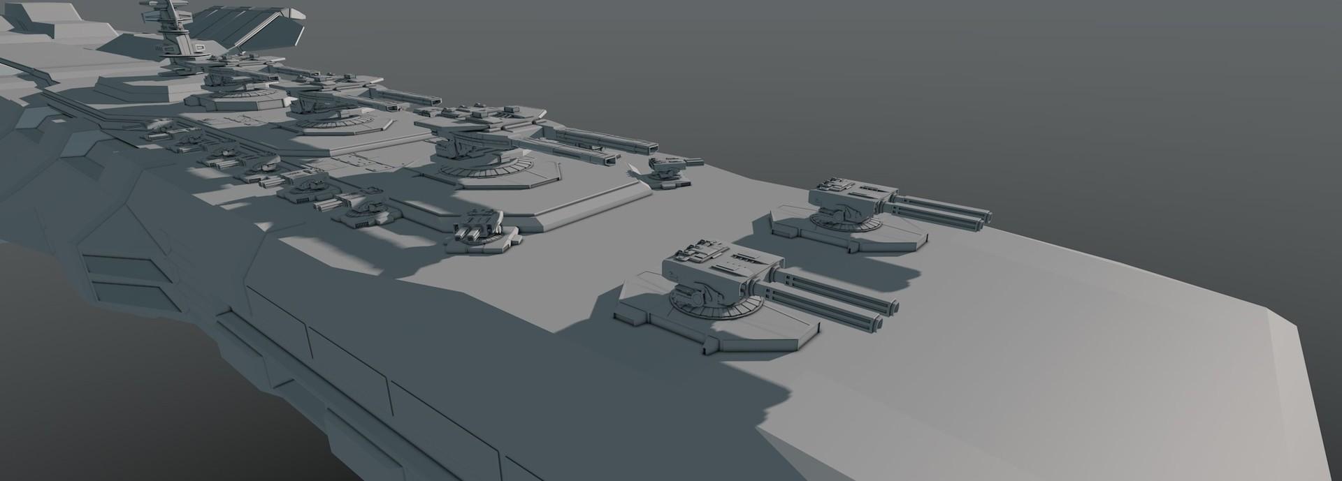 Glenn clovis concept battleship saratoga 12