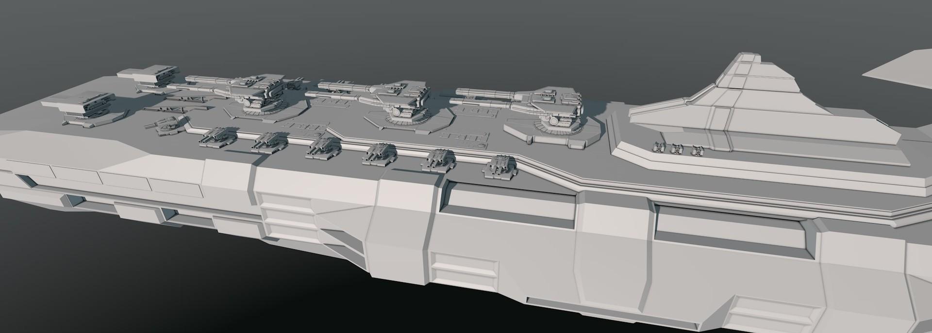 Glenn clovis concept battleship saratoga 13