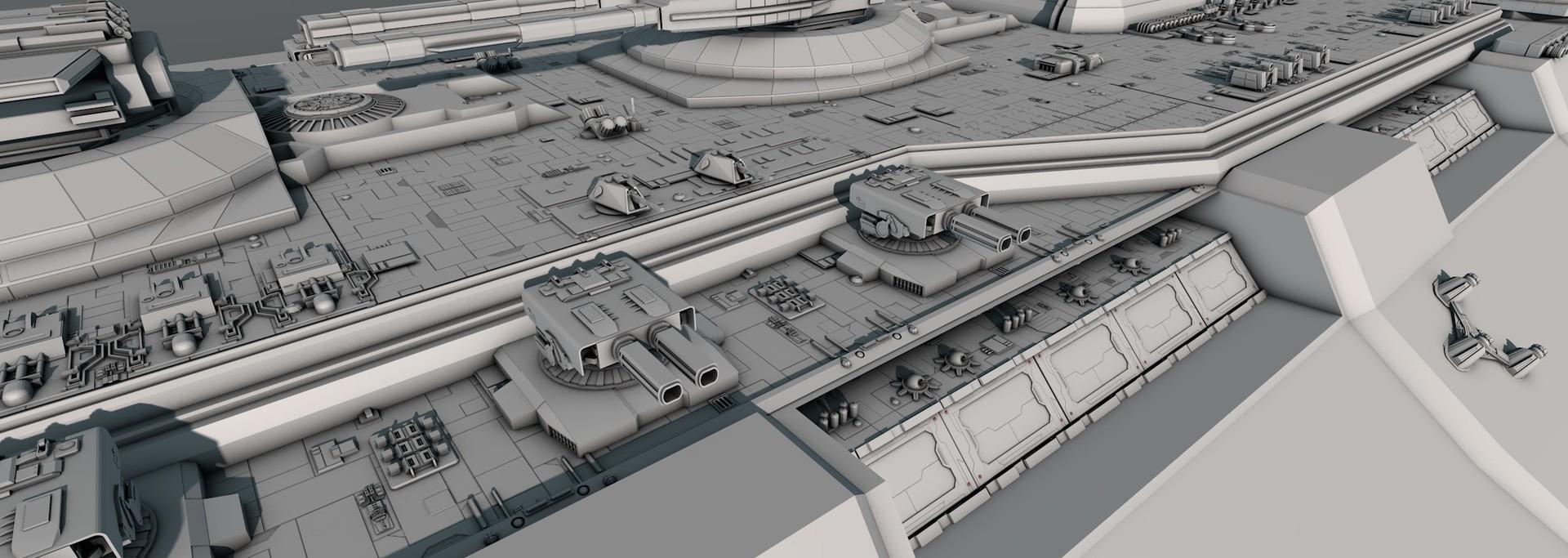 Glenn clovis concept battleship saratoga 16