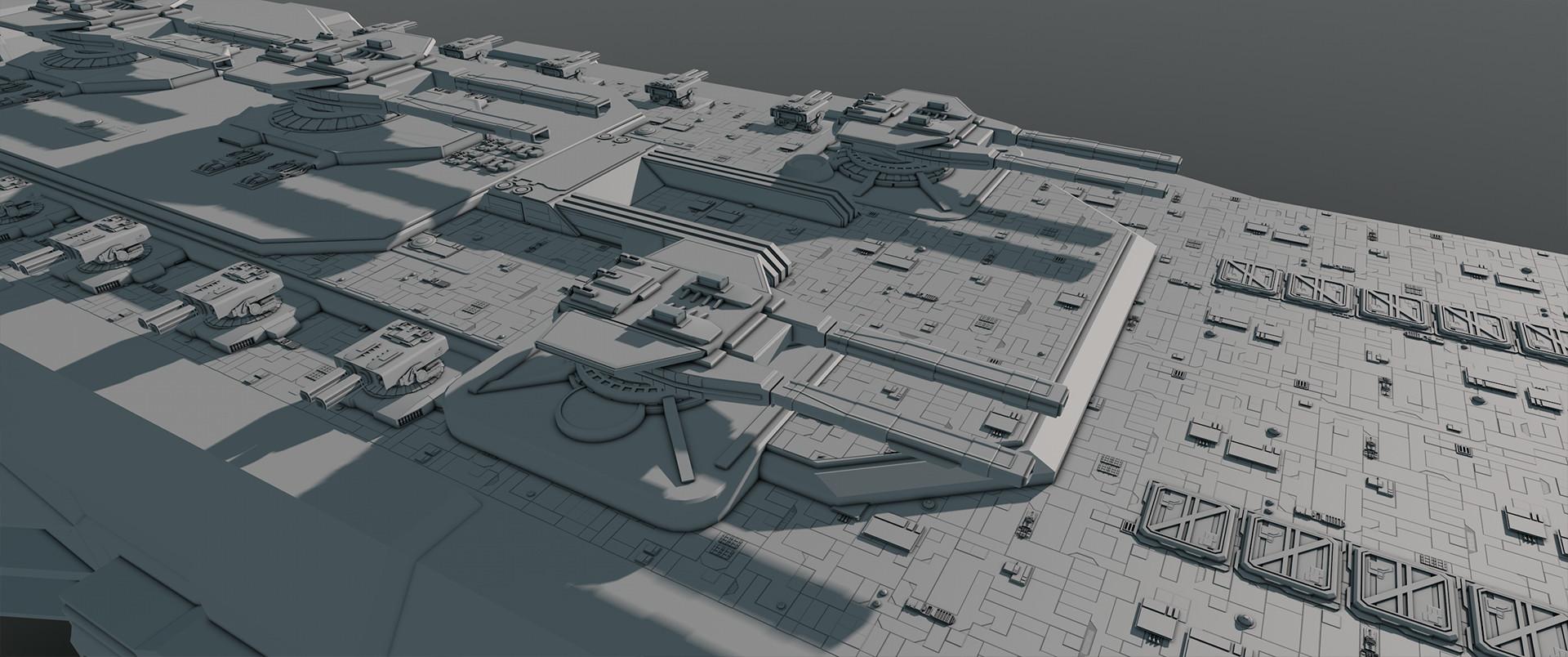 Glenn clovis concept battleship saratoga 20