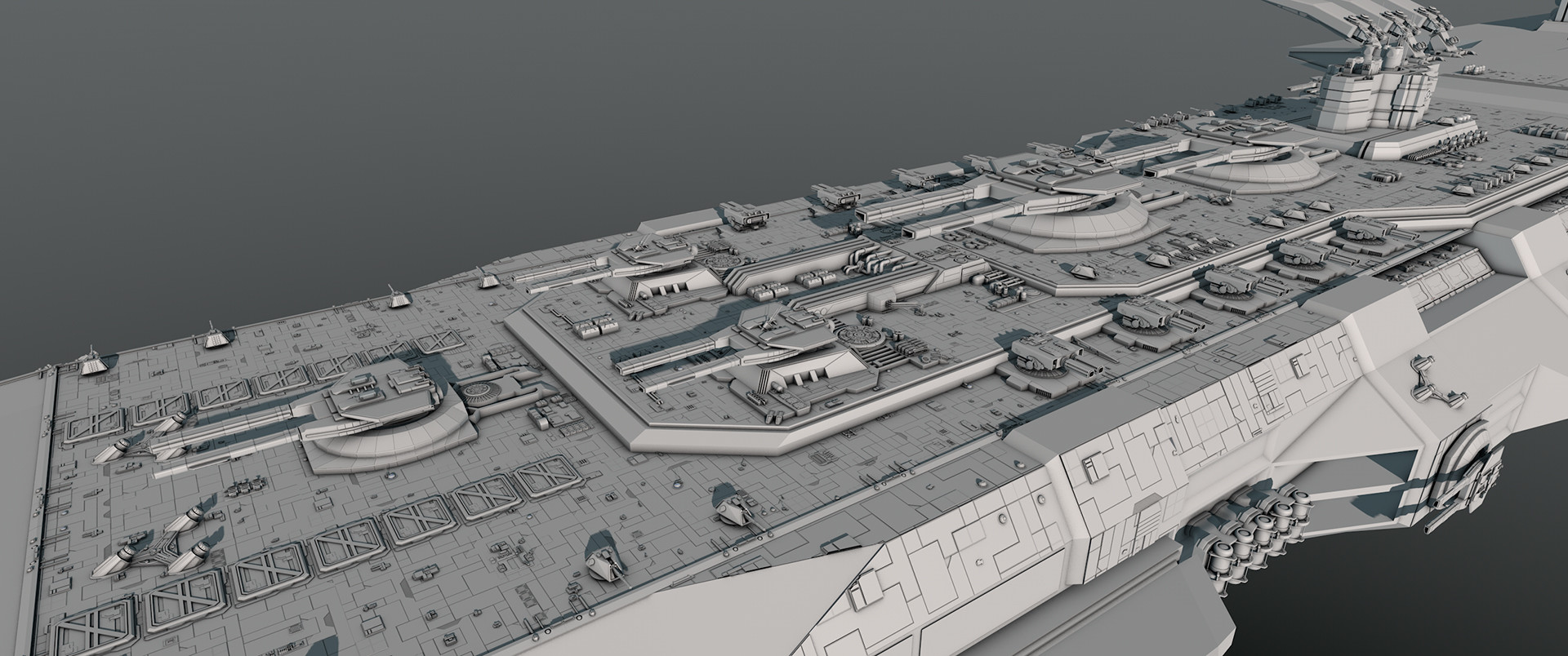 Glenn clovis concept battleship saratoga 32