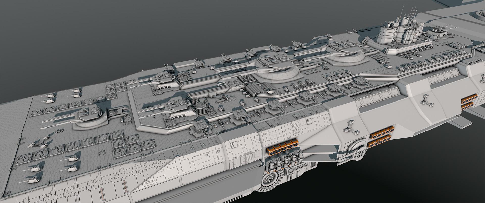 Glenn clovis concept battleship saratoga 37