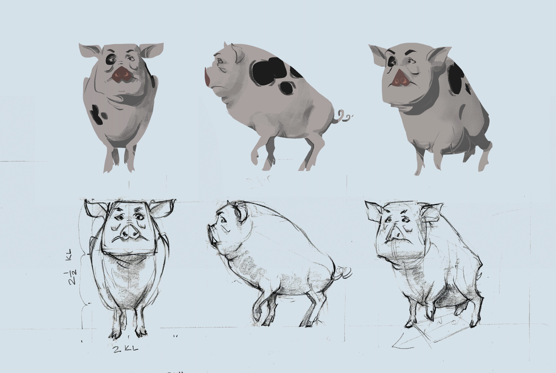 Artstation Animal Farm Eyal Navon