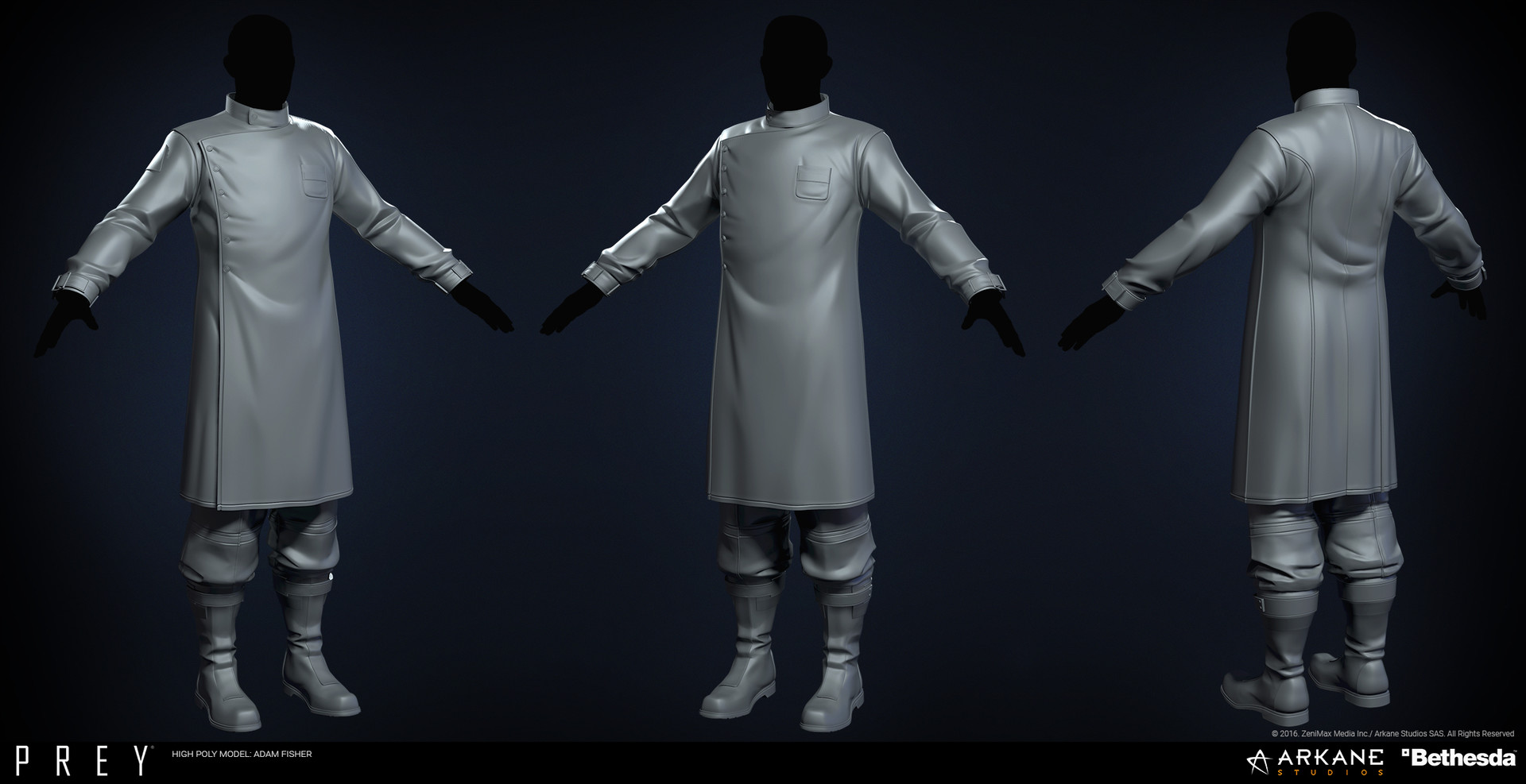 Adam fisher afisher prey labcoat male hp