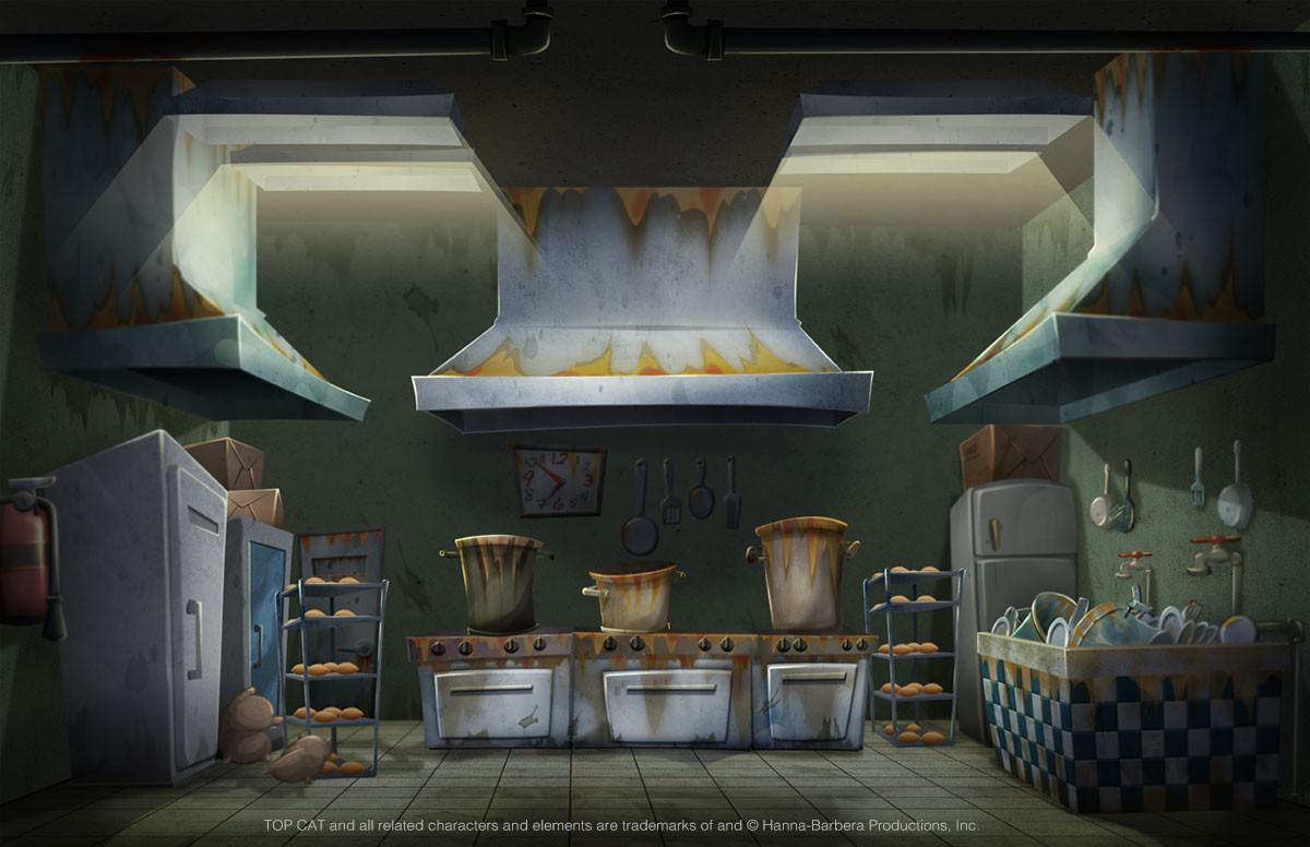 Artstation Prison Kitchen Stylus Head