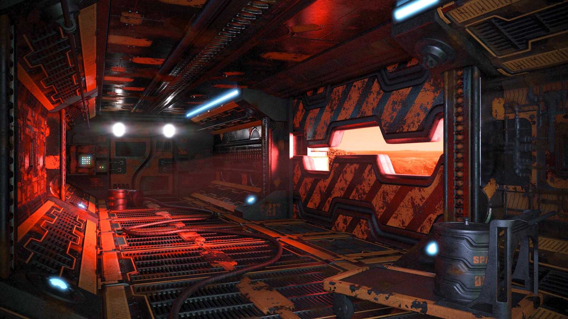 V-ray render, Red variant