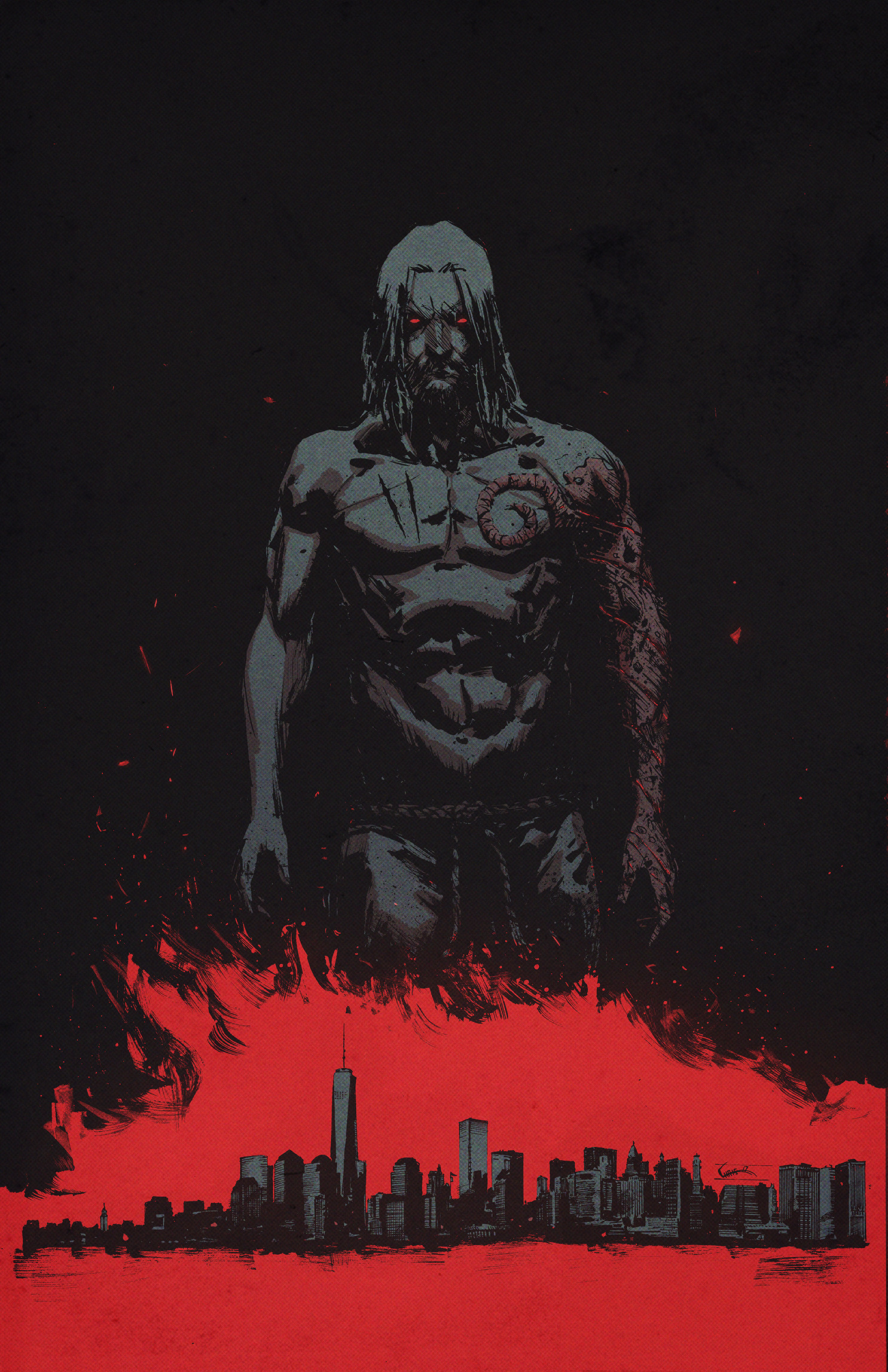 Chris shehan prometheus 1 cover color