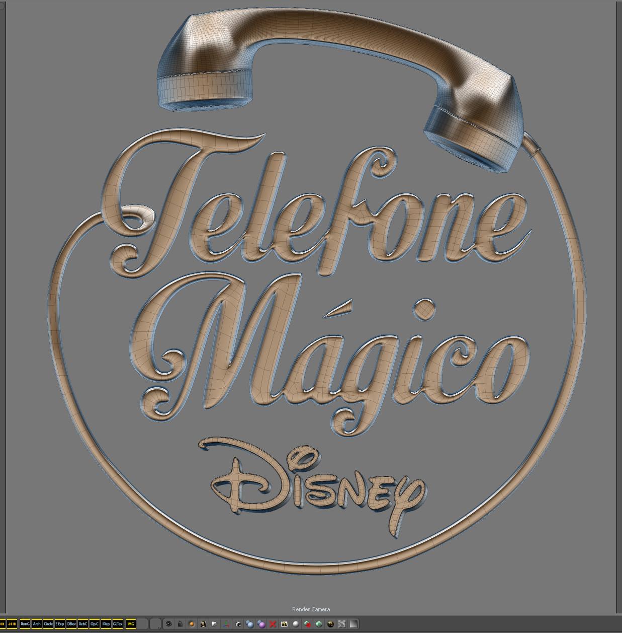 Tharso arrue 01 telefone magico disney mesh