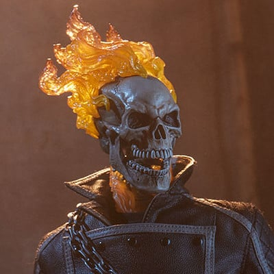 Walter o neal marvel ghost rider sixth scale 100385 02