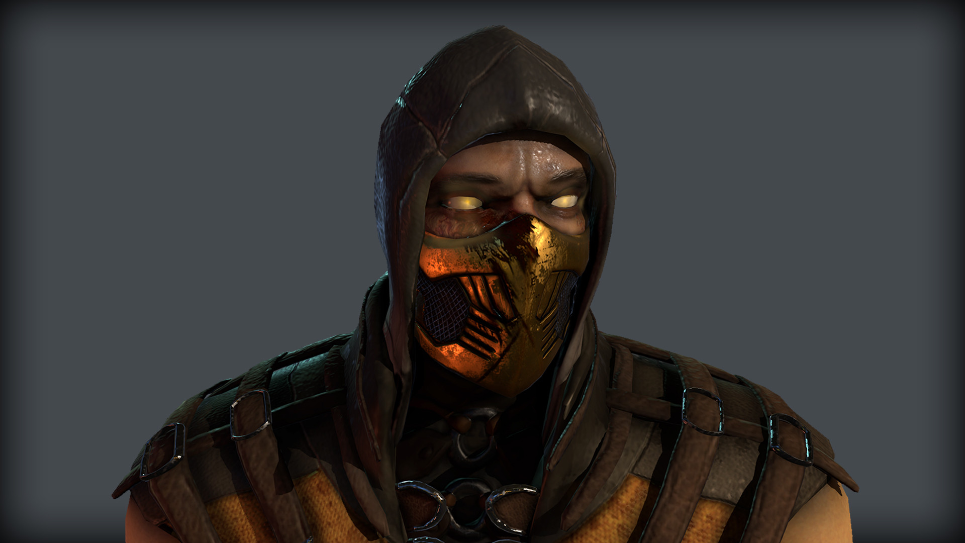 Artstation Mortal Kombat X Scorpion Joseph Coto