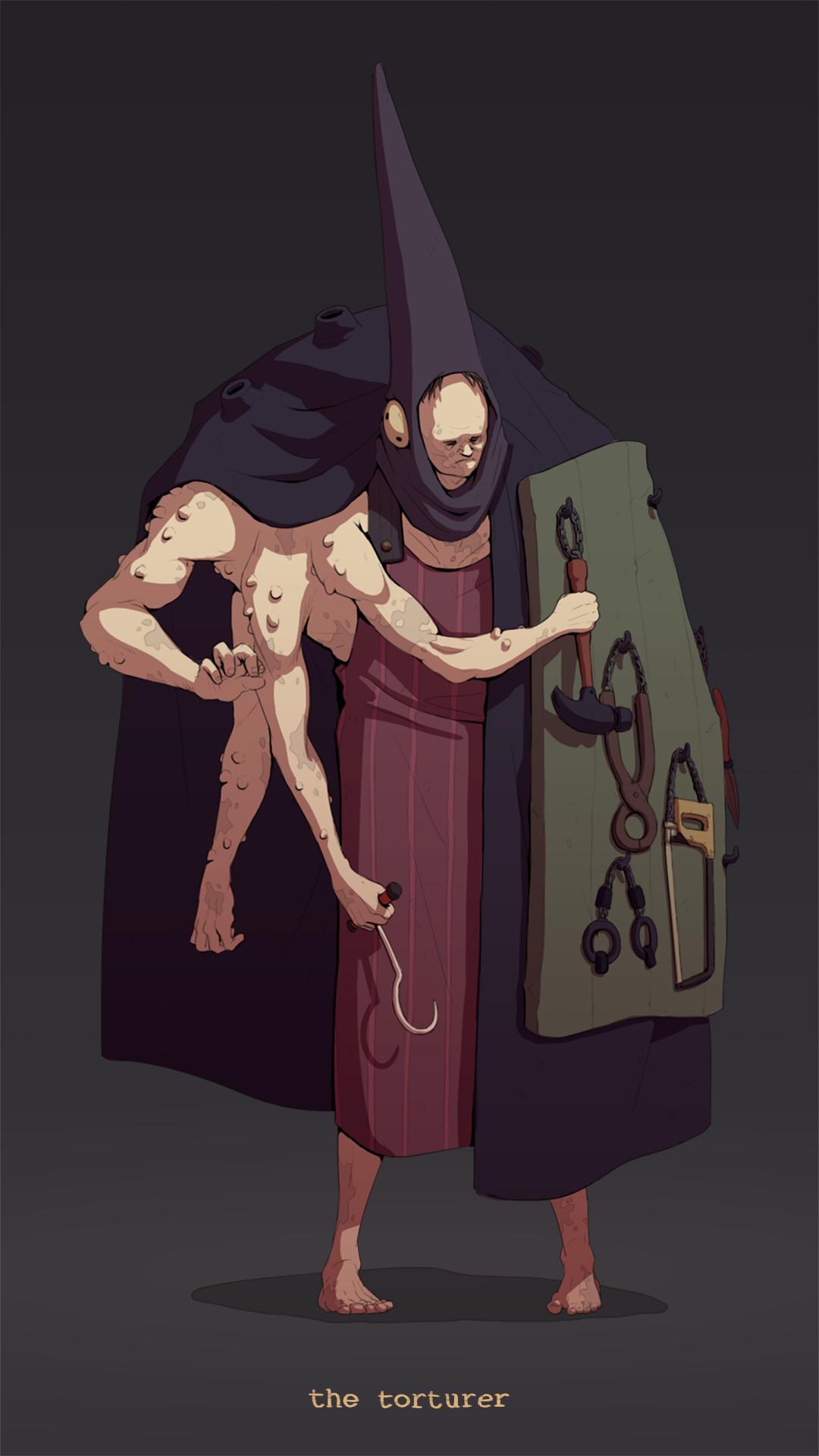 Nicolas tham deliverables torturer
