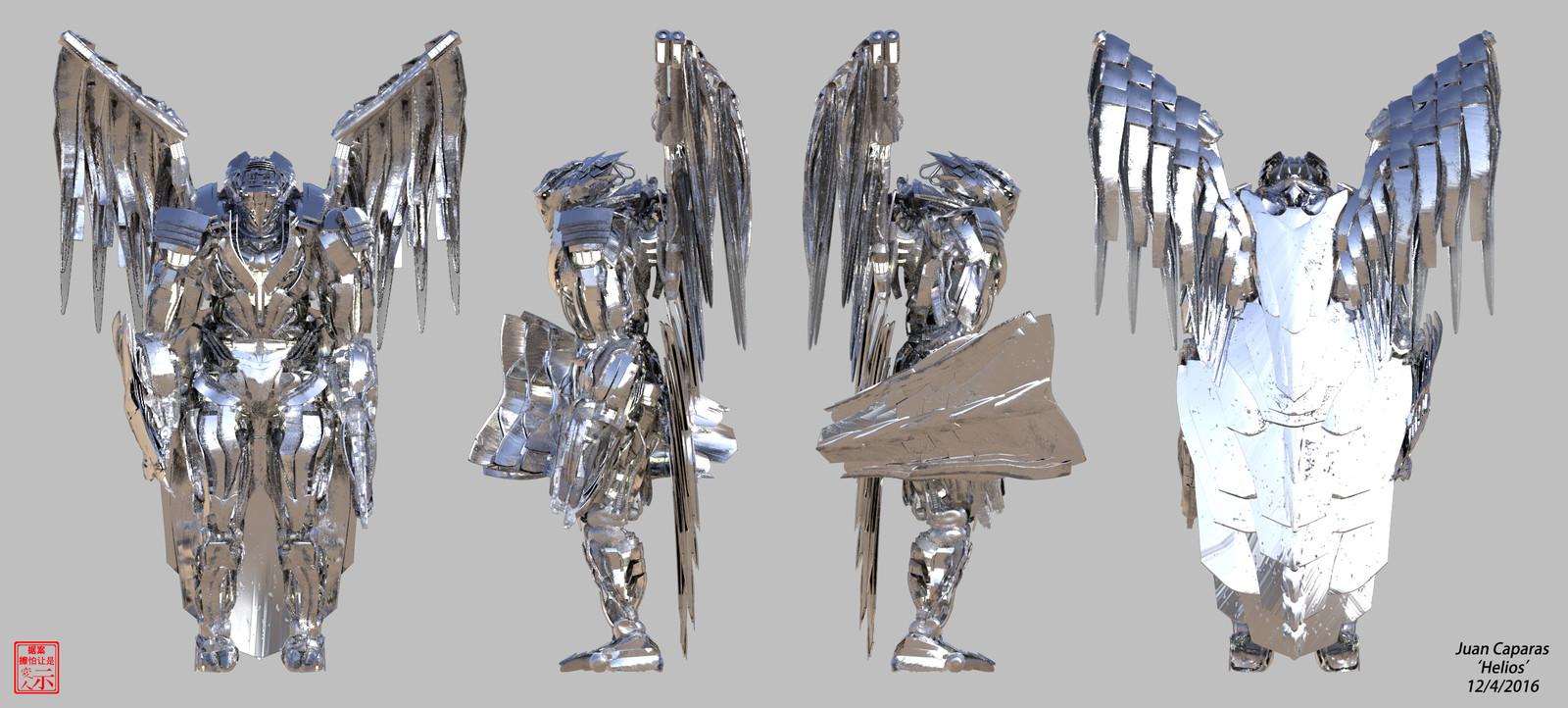 Helios - 3D Character Breakdowns
