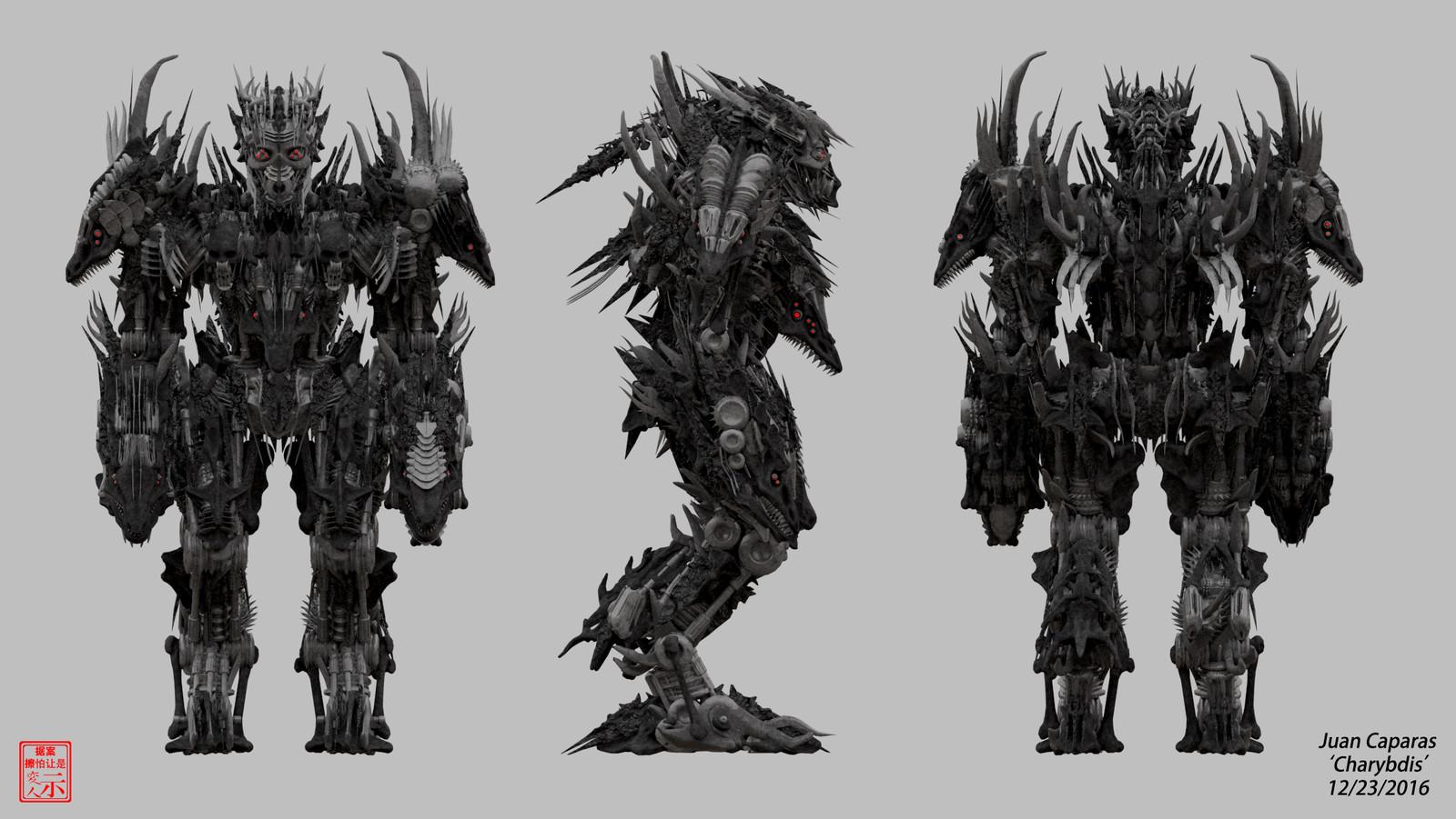 Charybdis - 3D Character Breakdowns