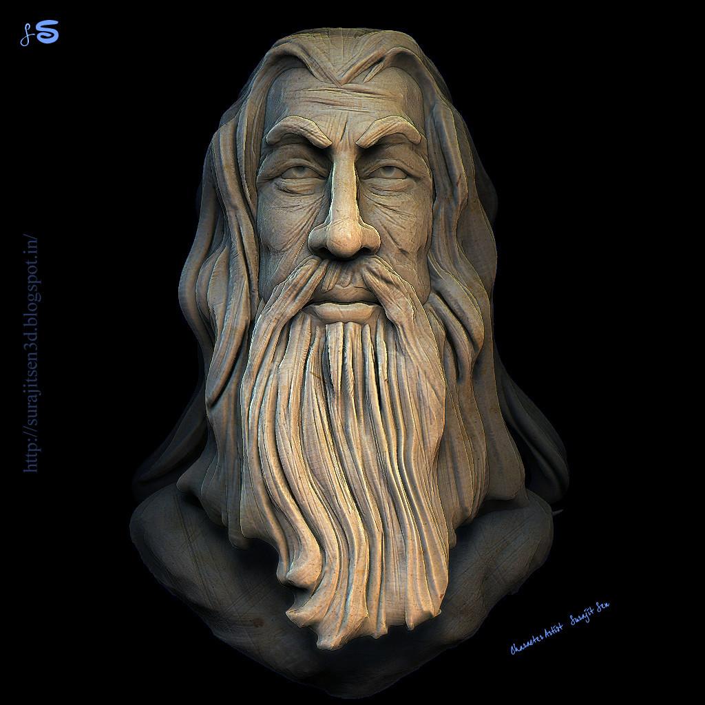 Surajit sen rough sculpt surajitsen 27072017