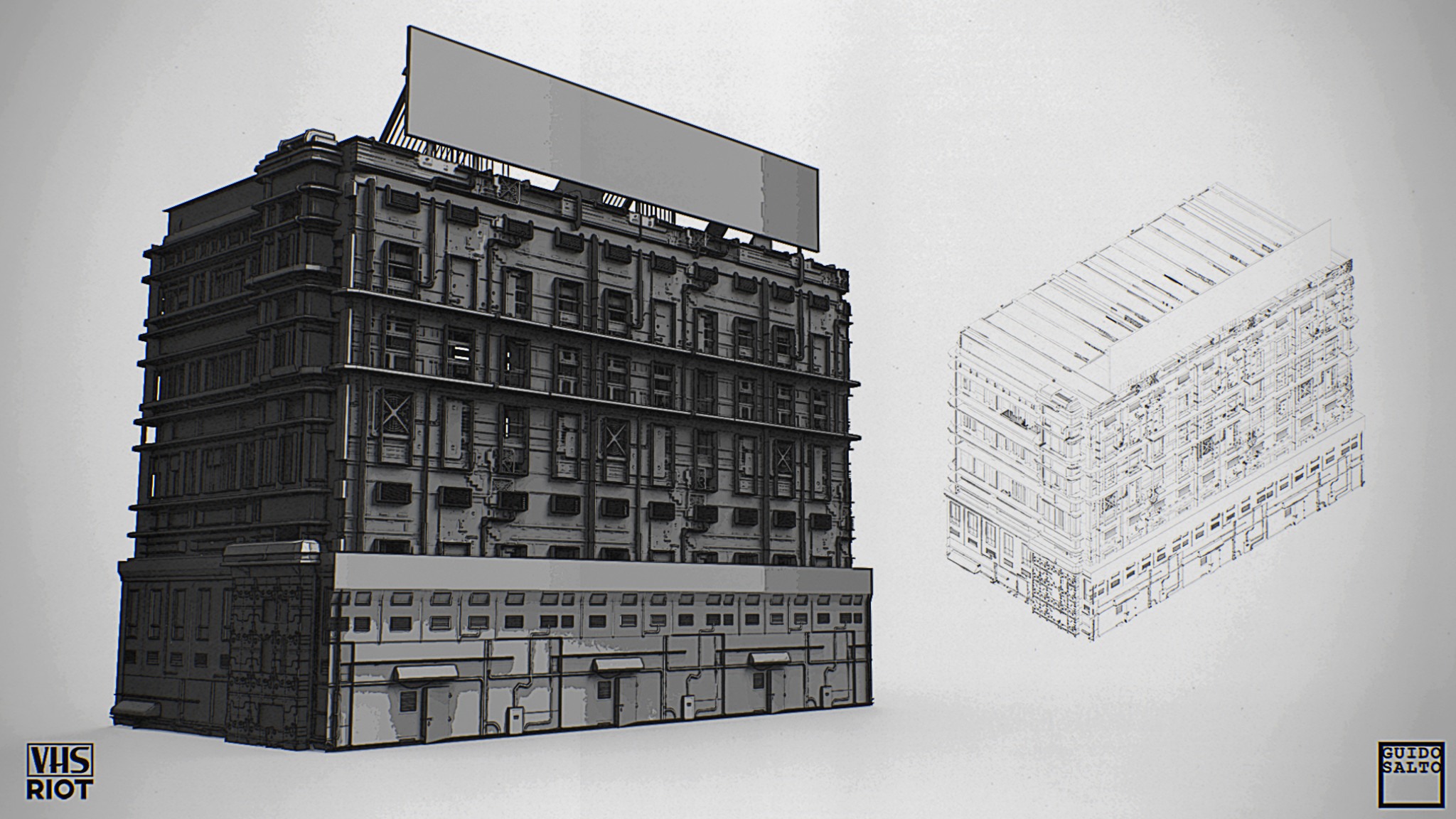 3d concept sketches