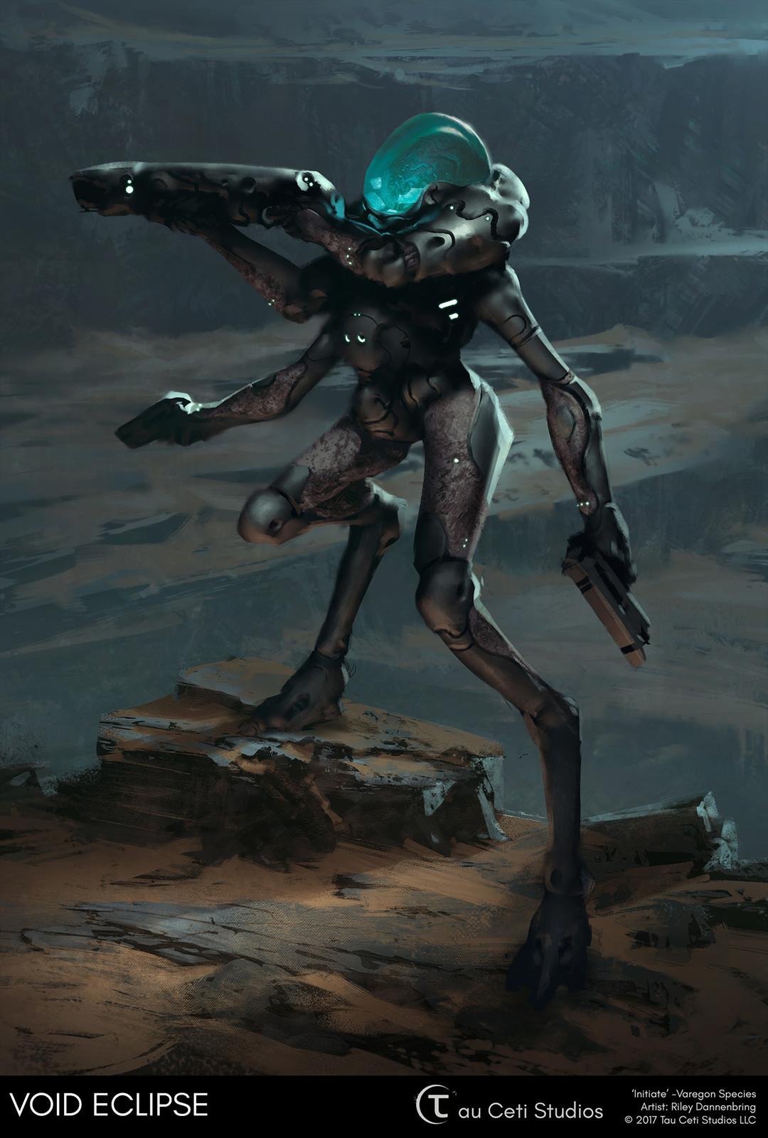 Initiate - Varegon Species