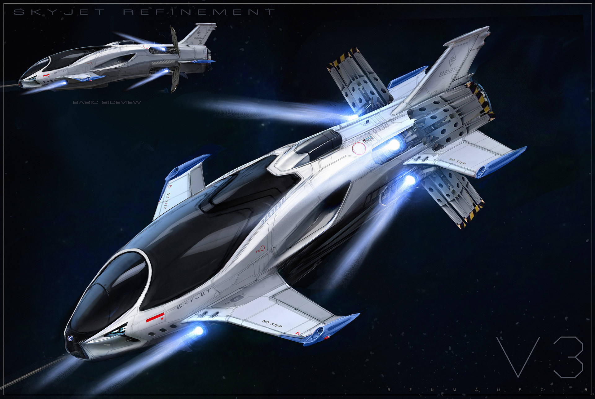Ben mauro skyjet lexus updateairbrake 03 bmssss