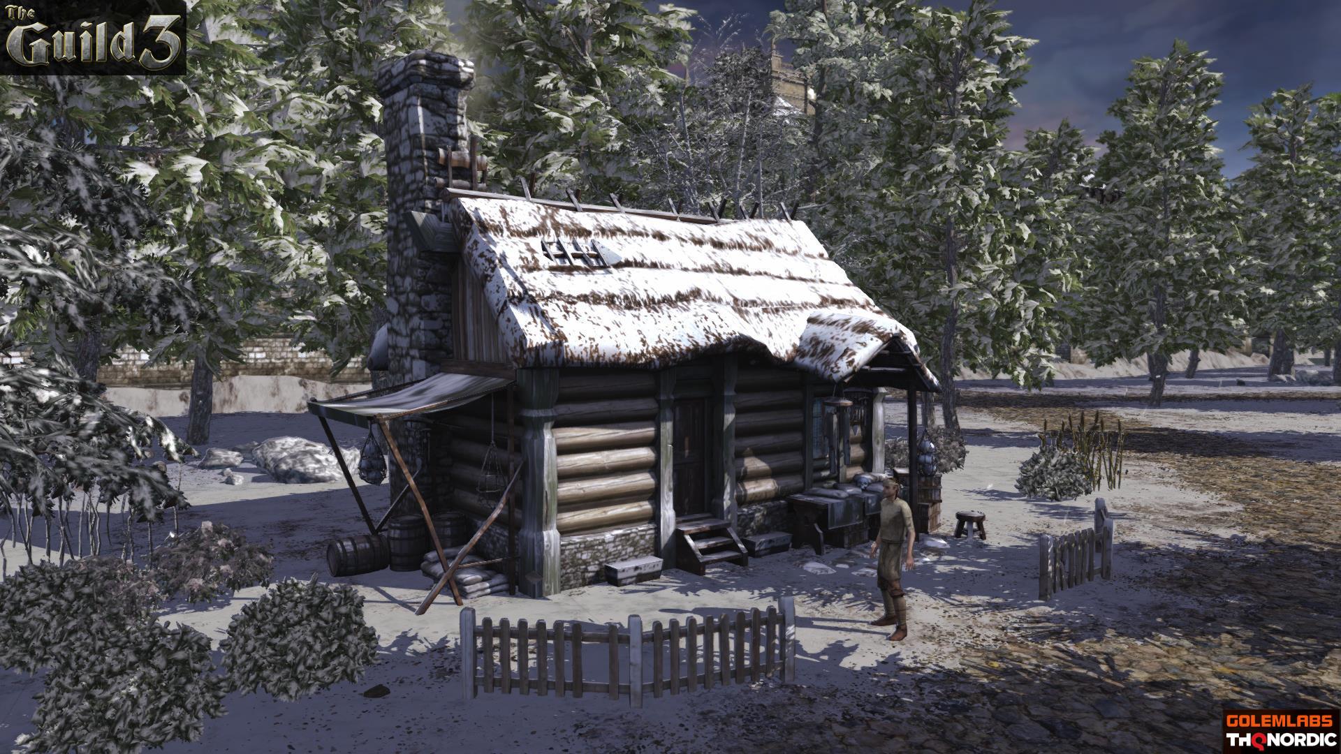 Katia gagne guil3 screenshot shaman neige