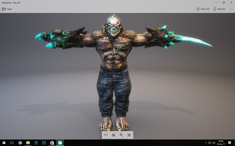 Asset - Character Monster