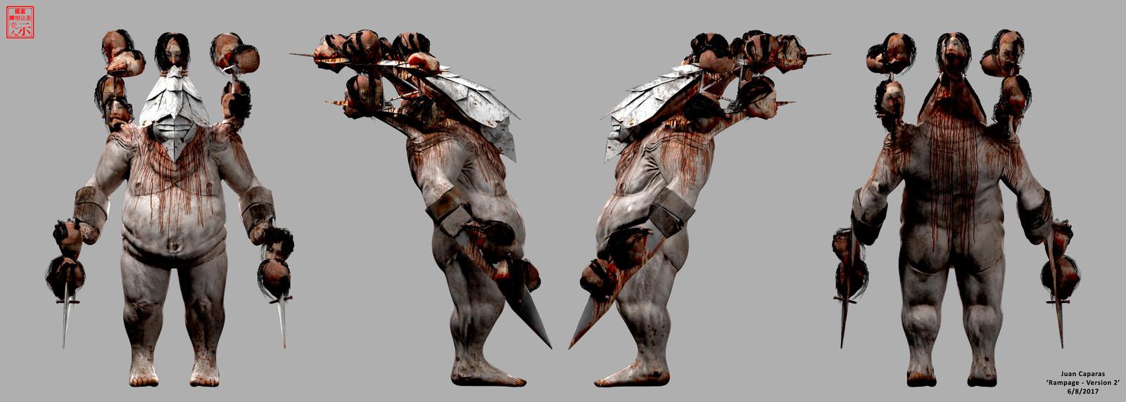 Rampage - 3D Character Breakdowns