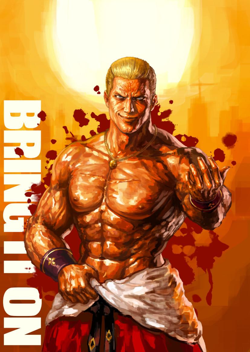 Artstation Tekken7 Dlc Geese Howard Fan Art Hwang Juphil