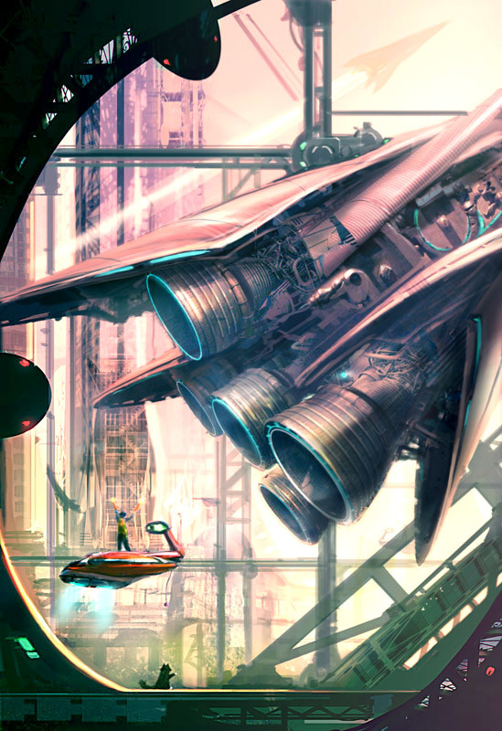 Tribute to Stephan Martiniere